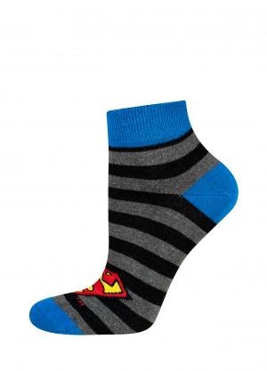 Pánské ponožky Soxo DC Comics černá 40-45