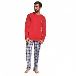 Cornette 124/165 Yukon 2 Pánské pyžamo L červená
