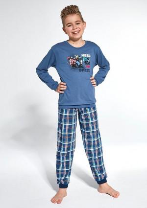 Dětské pyžamo Cornette 966/112 134/140 Modrá
