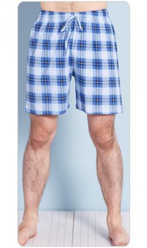 Pánské pyžamové šortky Jan - Gazzaz modro-sv.modrá 2XL