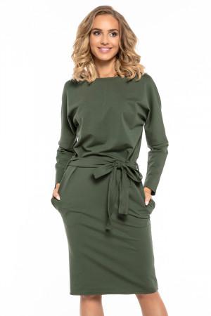 Dámské šaty T250 - Tessita tmavě zelená L-40