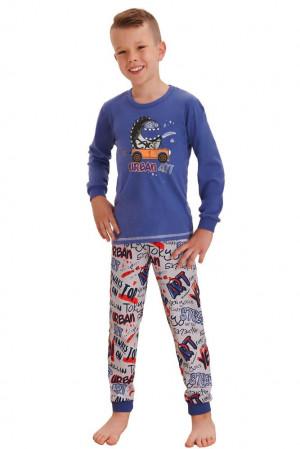Klučičí pyžamo Miloš street modré modrá
