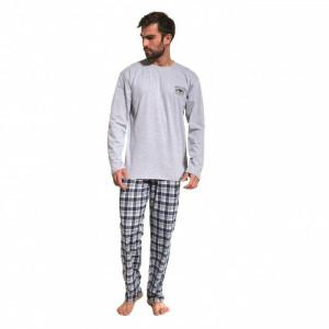 Cornette 124/164 Yukon Pánské pyžamo M Melanžová