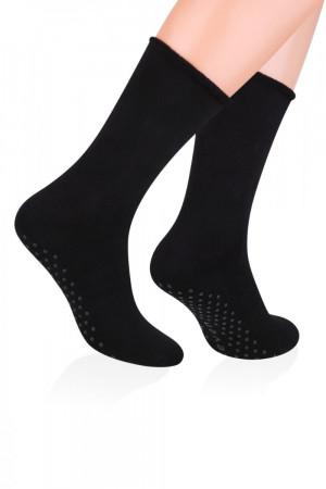 Pánské ponožky ABS 013 black černá 44/46