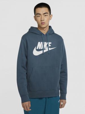 Sportswear Club Fleece Mikina Nike Modrá