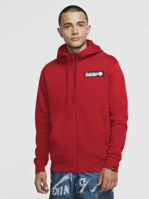 Sportswear Jdi Mikina Nike Červená