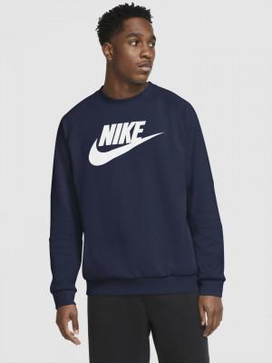 Sportswear Mikina Nike Modrá