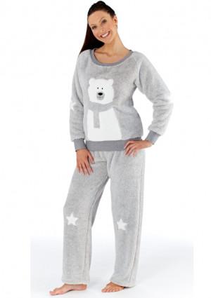 Dámské pyžamo Fordville LN000477  XS/S Šedá