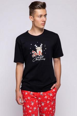 Pánské pyžamo Rudolfo černá