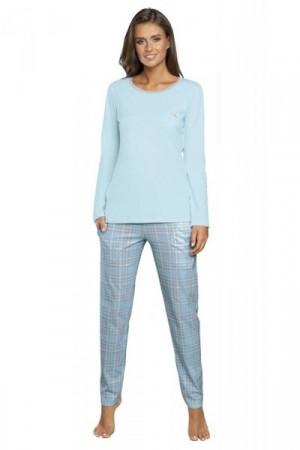 Italian Fashion Mitali dl.r. dl.k. Dámské pyžamo S modrá