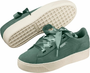 PUMA Puma Vikky Platform Ribbon S Quarry