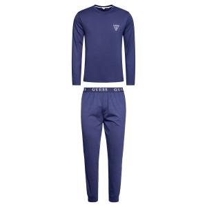 Pánské pyžamo U0BX00K8HM0 - D780 modrá - Guess modrá