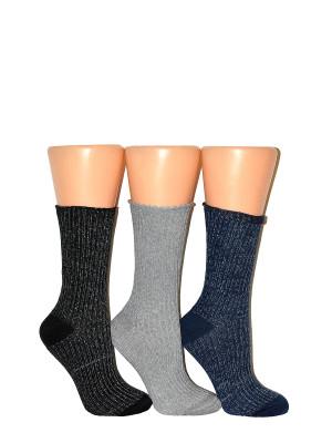 Dámské ponožky Milena Lurex 1023 šedá 37-41