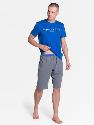 Pánské pyžamo Henderson 38366 Zed kr/r M-2XL černá