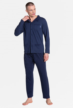 Pánské pyžamo Henderson 38363 Zander navy