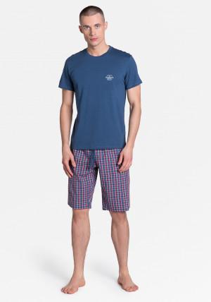 Pánské pyžamo Henderson 38364 Zeroth navy