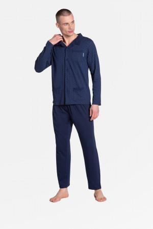 Pánské pyžamo M ZANDER 38363 tmavě modrá
