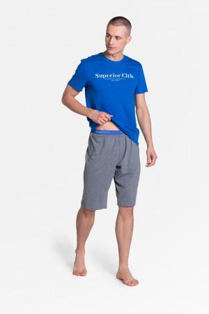 Pánské pyžamo M ZED 38366 černá-jeans