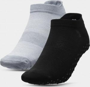 Dámské ponožky (2 páry) 4F SOD209 Černé... 35-38