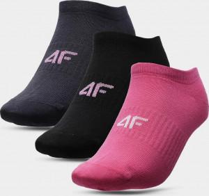Dámské ponožky (3 páry) SOD302 Růžové... 35-38