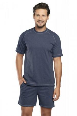 Italian Fashion Ekspert kr.r. kr.k. Pánské pyžamo M tmavě modrá