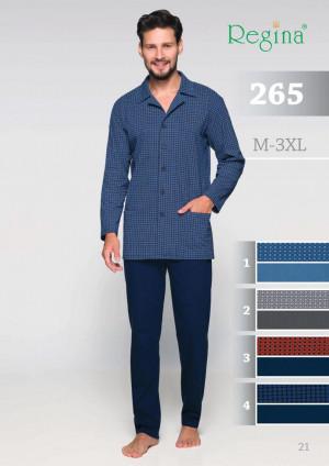 Pánské pyžamo 265 modrá