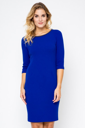 Dámské šaty SKA 50P model 104739 - Bass královská modř