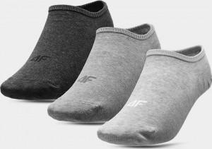 Dámské ponožky (3 páry) 4F SOD301 šedé ... Šedá 35-38