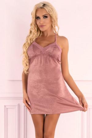 Jemná košilka Ressia - LivCo Corsetti růžová S/M