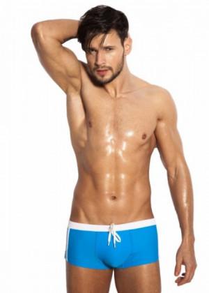 Alpha Male Sacco azur azurová XXL modrá