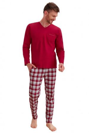 Pánské pyžamo Timon vínové vínová