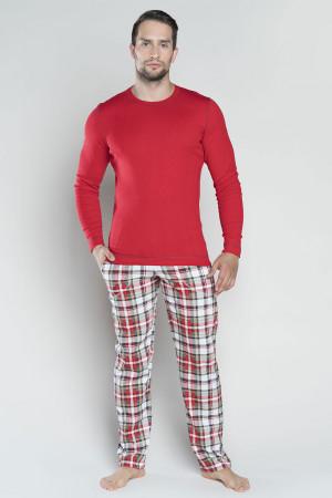 Pánské pyžamo Italian Fashion Rikardo . červená m