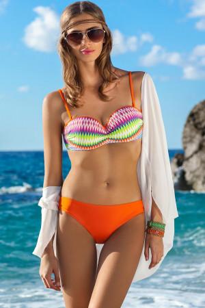 Dámské dvojdílné plavky Ewlon Bella oranžová