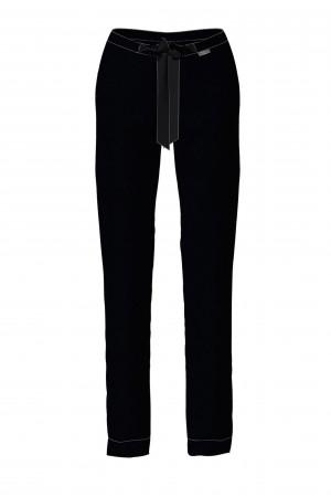 Vamp - Dámské sportovně elegantní kalhoty BLACK L 13922 - Vamp