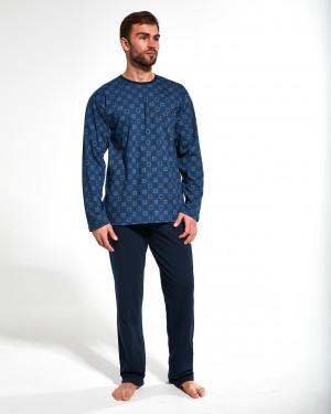 Pánské pyžamo 309/171 Paul - Cornette tmavě modrá