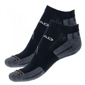 2PACK ponožky HEAD černé (741017001 200) 35-38