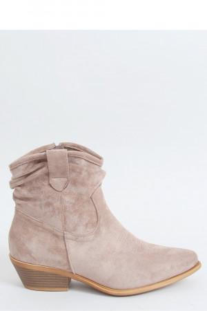 Boty na podpatku  model 150951 Inello