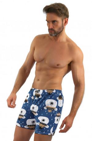 Pánské boxerky Sesto Senso wz.03 Medvídek, Merry Christmas jeans