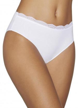 Kalhotky midi 19682 bílá - Ysabel Mora bílá
