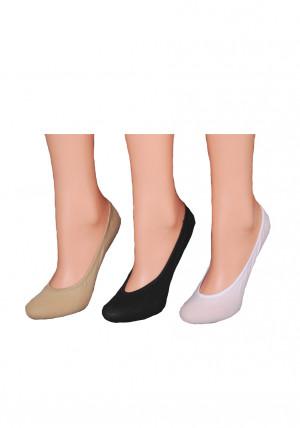 Dámské ponožky balerínky RiSocks art.5691412 černá 36-41