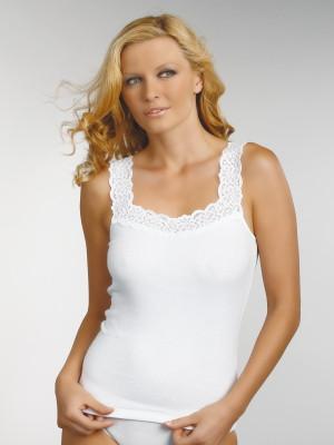Bílá dámská košilka Eldar Arietta XXL-XXXL bílá