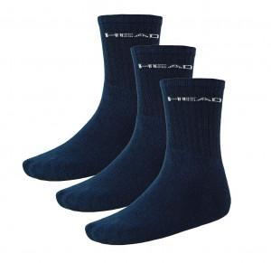 3PACK ponožky HEAD navy (751004001 321) 39-42
