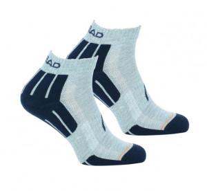 2PACK ponožky HEAD šedé (741018001 650) 43-46