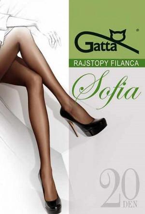Dámské punčochové kalhoty Gatta Sofia 20 den 3-4 béžová/odstín béžové 4-L