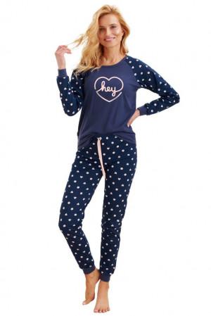 Dámské pyžamo Ami hey tmavě modré modrá