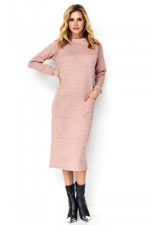 Denní šaty model 137958 Makadamia