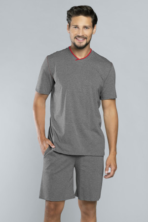 Pánské pyžamo Italian Fashion Brend žíhaná s