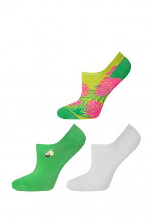 Dámské ponožky Soxo 3143 Basic A'3 mix 35-40