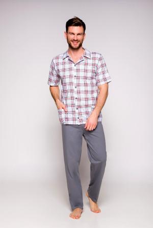 Pánské pyžamo Taro Gracjan 921 kr/r M-XL '19 modrá-jeans