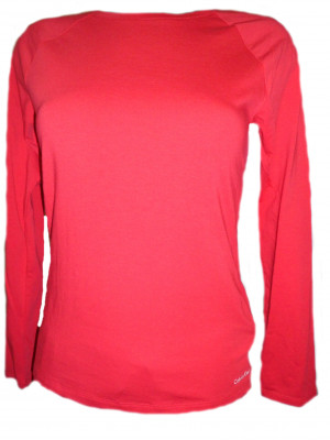 Dámské triko DR QS5320E - Calvin Klein červená